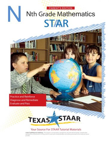STAAR Math Parent-Led Student Workbook (with Answer Key ...